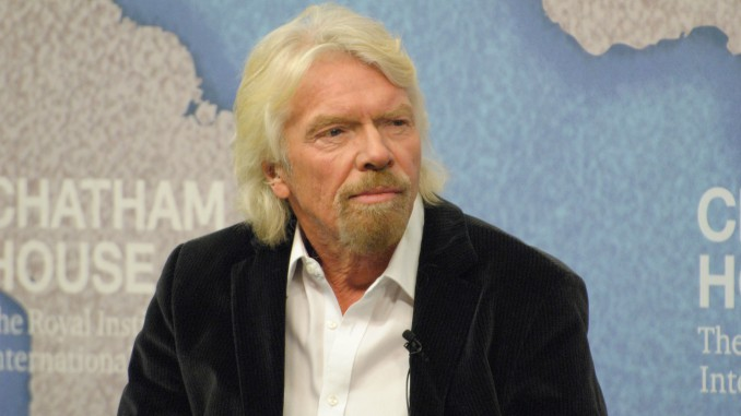 Richard Branson investing in Ukraine